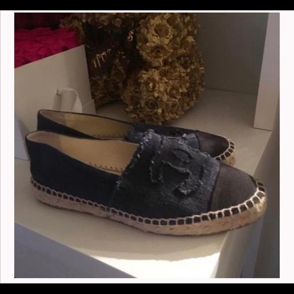 CHANEL Shoes - Chanel espadrilles sz 39